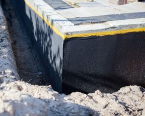 build up a home foundation perimeter drainage system